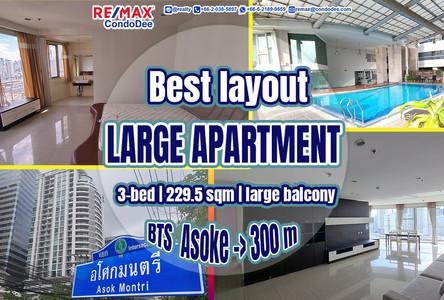 For Sale 3 Beds コンド Near MRT Sukhumvit, Bangkok, Thailand