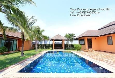 For Sale or Rent 4 Beds House in Hua Hin, Prachuap Khiri Khan, Thailand