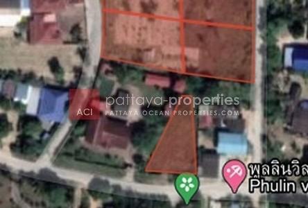 For Sale Land 880 sqm in Bang Lamung, Chonburi, Thailand