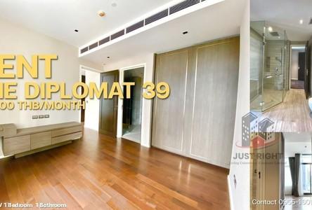 For Rent 1 Bed コンド Near BTS Phrom Phong, Bangkok, Thailand