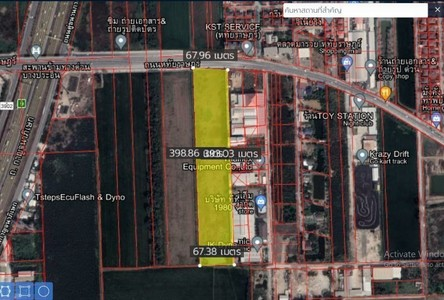 For Sale Land 26,524 sqm in Lam Luk Ka, Pathum Thani, Thailand