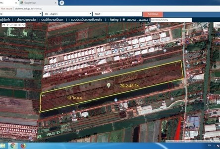For Sale Land 127,380 sqm in Lam Luk Ka, Pathum Thani, Thailand