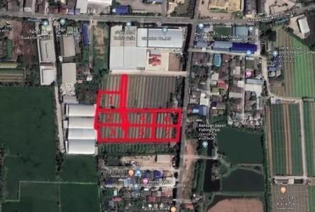 For Sale Land 9,600 sqm in Krathum Baen, Samut Sakhon, Thailand
