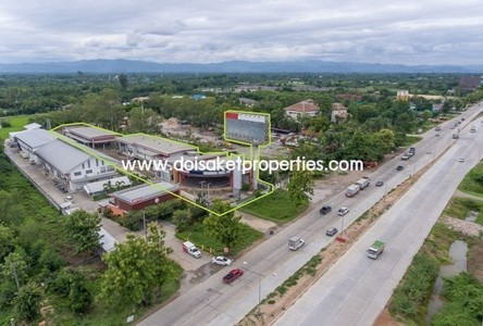 For Sale Retail Space 1,964 sqm in Saraphi, Chiang Mai, Thailand