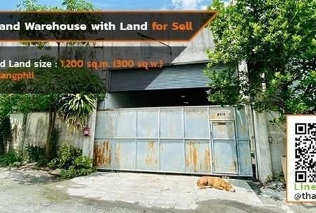 For Sale Retail Space 1,200 sqm in Bang Phli, Samut Prakan, Thailand