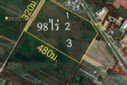 For Sale Land 156,800 sqm in Nikhom Phatthana, Rayong, Thailand