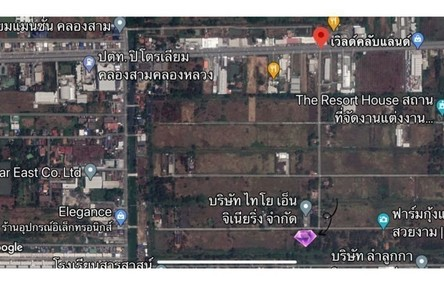 For Rent Land 4,448 sqm in Khlong Luang, Pathum Thani, Thailand