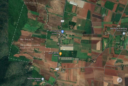 For Sale or Rent Land 832 rai in Nong Muang, Lopburi, Thailand