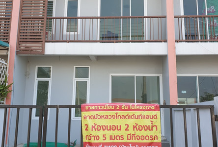 For Sale 2 Beds Townhouse in Lat Bua Luang, Phra Nakhon Si Ayutthaya, Thailand