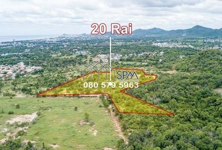 For Sale Land 1,600 sqm in Cha Am, Phetchaburi, Thailand