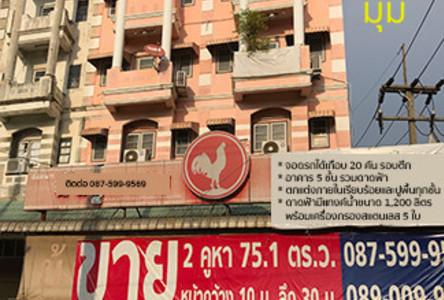 For Sale 4 Beds Shophouse in Krathum Baen, Samut Sakhon, Thailand