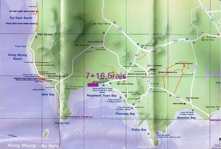 For Sale Land 11,200 sqm in Krabi, South, Thailand