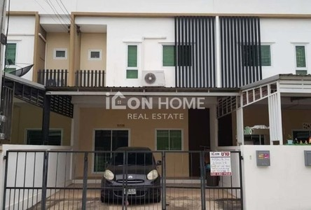 For Sale 3 Beds Townhouse in Nong Khae, Saraburi, Thailand