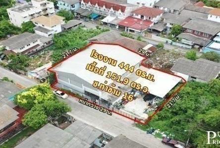 For Sale Warehouse 604 sqm in Phra Nakhon, Bangkok, Thailand