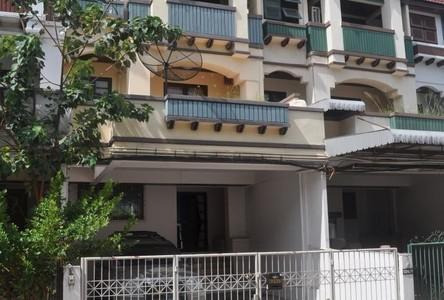 For Rent 4 Beds Townhouse in Huai Khwang, Bangkok, Thailand