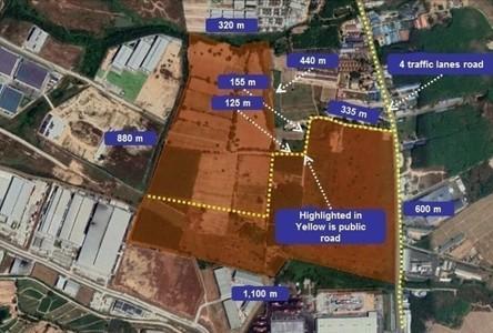 For Sale Land 654,400 sqm in Pluak Daeng, Rayong, Thailand