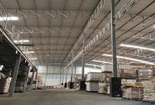 For Rent Warehouse 3,700 sqm in Krathum Baen, Samut Sakhon, Thailand