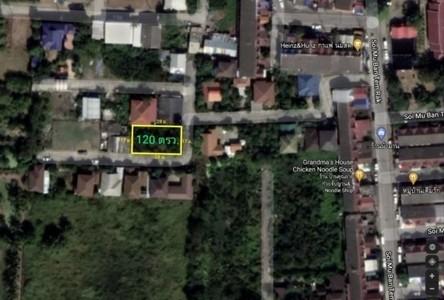 For Sale Land 480 sqm in Bang Bua Thong, Nonthaburi, Thailand
