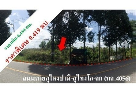 For Sale Land in Su-ngai Padi, Narathiwat, Thailand