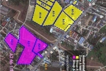 For Sale Land 74,227.6 sqm in Mueang Rayong, Rayong, Thailand