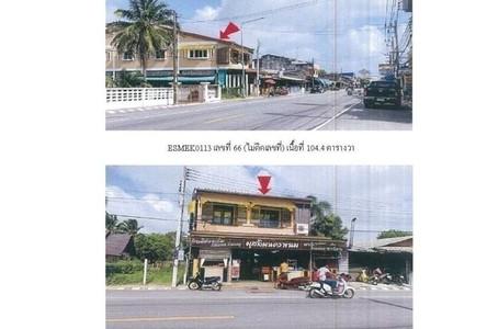 For Sale Retail Space 418 sqm in Phrom Khiri, Nakhon Si Thammarat, Thailand