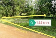 For Sale Land 576 sqm in Hat Yai, Songkhla, Thailand