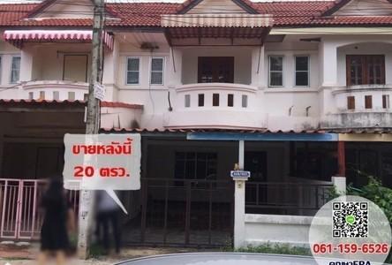 For Sale 3 Beds Townhouse in Mueang Khon Kaen, Khon Kaen, Thailand