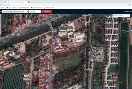 For Sale Land 1,600 sqm in Thanyaburi, Pathum Thani, Thailand