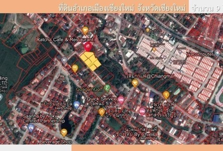 For Sale Land 2,412.56 sqm in Mueang Chiang Mai, Chiang Mai, Thailand