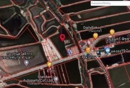 For Sale Land 8,588 sqm in Phra Samut Chedi, Samut Prakan, Thailand