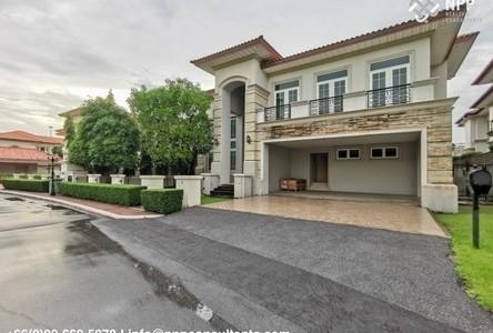 ขาย บ้านเดี่ยว 5 ห้องนอน บึงกุ่ม กรุงเทพฯ