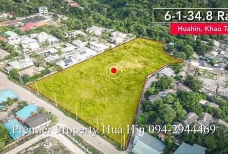 For Sale Land 18,139.2 sqm in Hua Hin, Prachuap Khiri Khan, Thailand