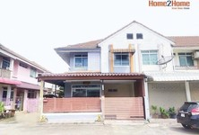 For Sale 3 Beds Townhouse in Khlong Luang, Pathum Thani, Thailand