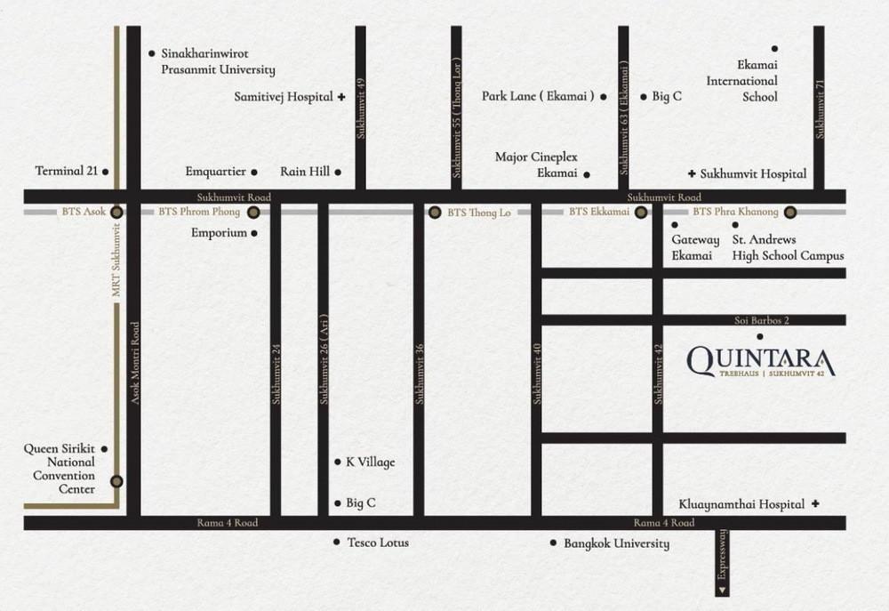 Quintara Treehaus Sukhumvit 42