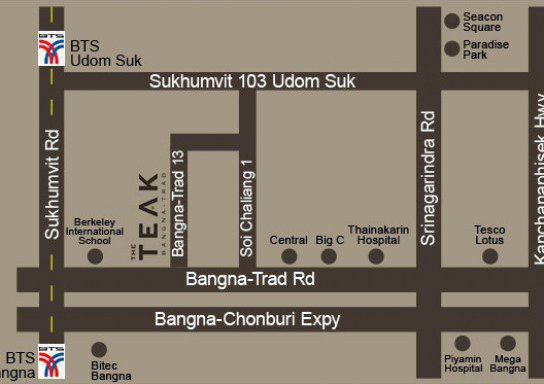 The Teak Bangna - Trad