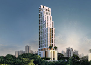 Located in the same building - The XXXIX by Sansiri